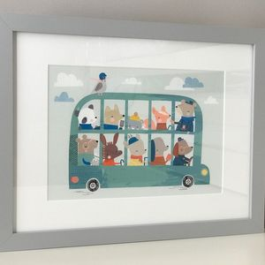 Childs Nursery Print Can Be Personalised