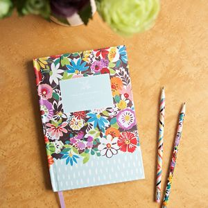 Flower Patch 2018 A5 Diary