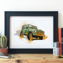 Land Rover Vehicle Illustration
