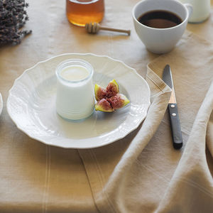 Italian Stripe Linen Runner - table linen