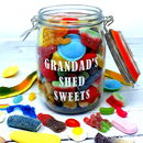 Grandad's Personalised Sweet Jar