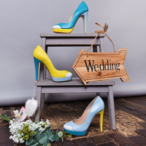 Mayfair Platform Wedding Shoes - wedding fashion
