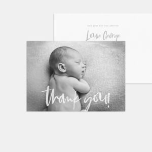 20 Hello World Photo Birth Announcement Thank You Cards