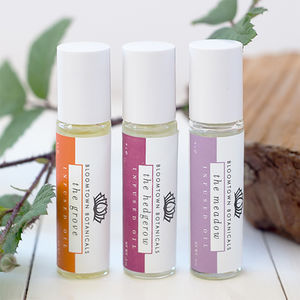 Gift Wrapped Trio Roll On Oils - massage & aromatherapy