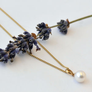 Pearl And Gold Necklace - necklaces & pendants