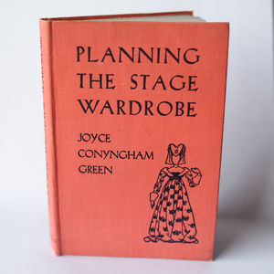Vintage Notebook 'Planning The Stage'