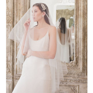 Drop Wedding Veil - veils