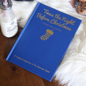 Personalised 'Twas The Night Before Christmas Book - personalised