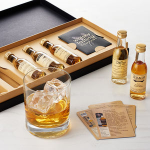 Old And Rare Scotch Whisky Set - wines, beers & spirits