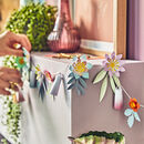 Diy Paper Flower Garland Craft Kit