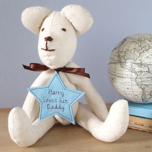 Personalised Teddy Bear For Him