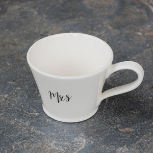 Mrs Mug - gifts for the bride