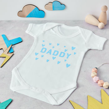 Daddy Heart baby grow