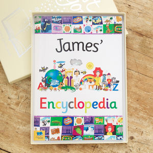 My Personalised Encyclopedia - gifts: under £25