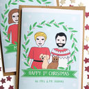 Personalised Couple Christmas Card Or Pack