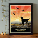 Limited Edition Labradoodle Or Goldendoodle Gift Print