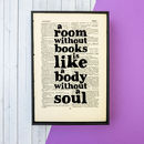 Book Lover's Framed Book Art