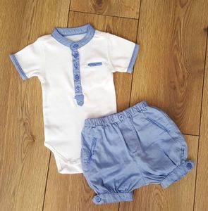 Baby Boy Traditional Bloomer And Body Two Piece