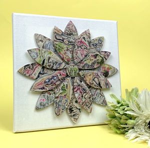 Paper Flower Canvas