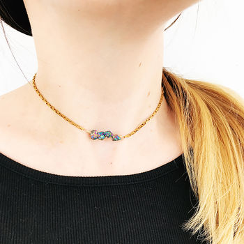 Personalised Gemstone Choker