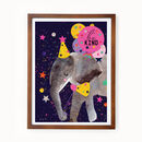 Be Kind Elephant Eco Print