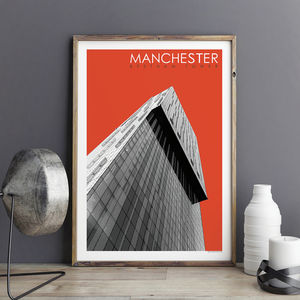 Manchester Prints Beetham Tower