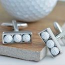 Golf Ball Cufflinks