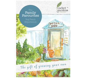 Family Favourites Veg Patch Experience Gift Voucher - gardening