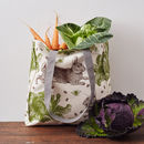 Rabbit And Cabbage Tote Bag