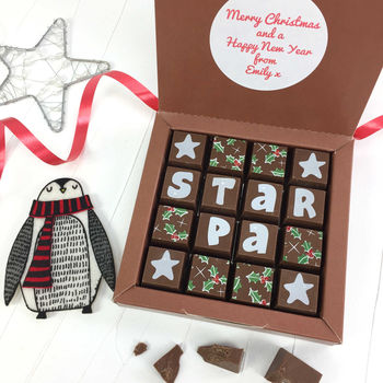 Chocolates For A Star Dad With Personalised Message