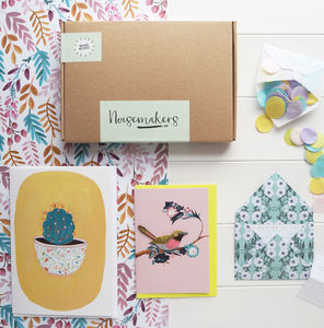 Little Birdy Stationery Box - all purpose cards