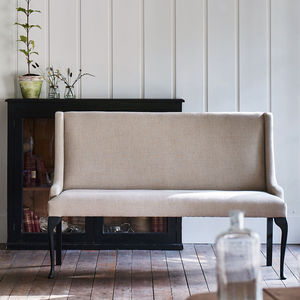 Lulworth Linen Bench - furniture