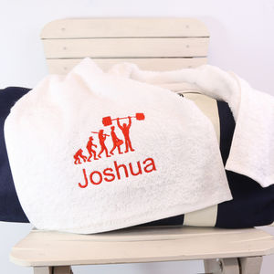 Personalised Evolution Gym Towel