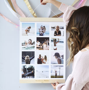 Personalised Magnetic Hanging Photo Print Frame - picture frames