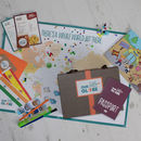 Adventurers 10 Month Travel Subscription Kit For Kids
