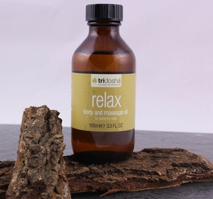 Relax Bath And Body Oil - bathroom