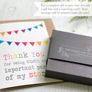 Thank You My Story Acrylic Cloud Rainbow Keepsake