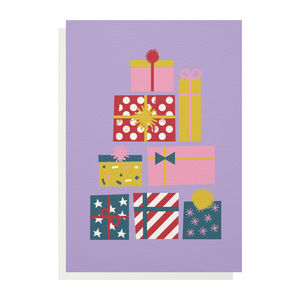 Presents Greetings Card - birthday cards