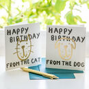 Happy Birthday From The Pet Card