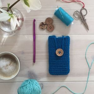Knitted IPhone And Gadget Case