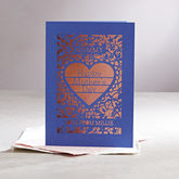 Personalised Papercut Mother's Day Card - mother's day