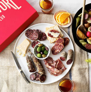 Artisan British Charcuterie Box - gourmet snacks