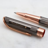 Personalised Rhodium And Rose Gold Plated Pen - stationery