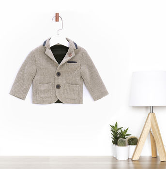 Baby Boys Dapper Jacket