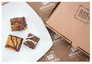 Surprise Selection Box Of 25 Chocolate Brownies - cakes