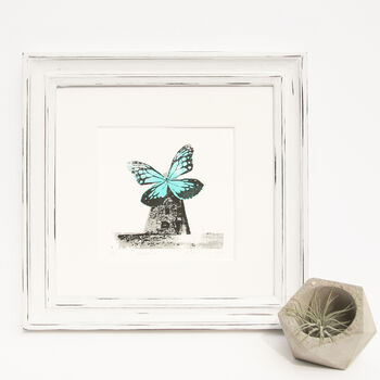Wingmill Screenprint Butterfly Windmill