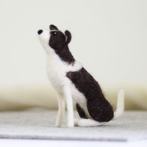 Border Collie Needle Felting Craft Kit - sewing & knitting