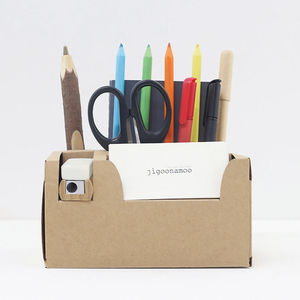 Diy Paper Desk Tidy Box - desk tidies