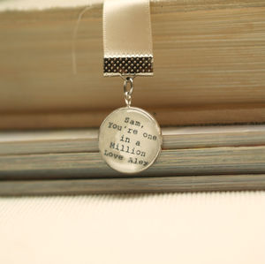 'You Are One In A Million' Personalised Bookmark Gift - bookmarks