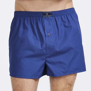 British Boxer Shorts In Indigo - men's fashion